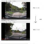 キチガイ運転手がチャリの中学生を追い回す動画が話題に