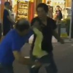 爺さん同士の喧嘩を撮影した動画がカオスだと話題に